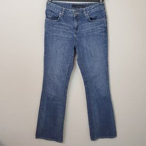 CK relaxed boot cut jeans
